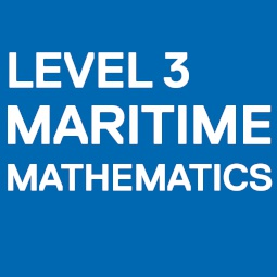 Level 3 Award in Maritime Mathematics (Open Awards)