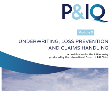 Module 3: Underwriting, Loss Prevention & Claims Management