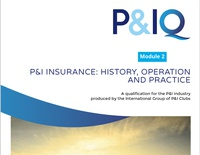 Module 2 - P&I Insurance: History, Operation & Practice