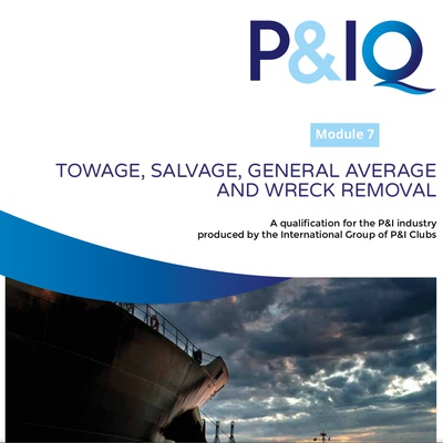Module 7: Towage, Salvage, GA and Wreck Removal